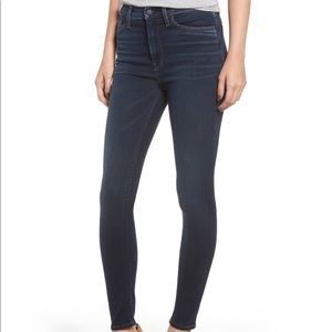 Hudson High Waist Barbara Super Skinny Jeans